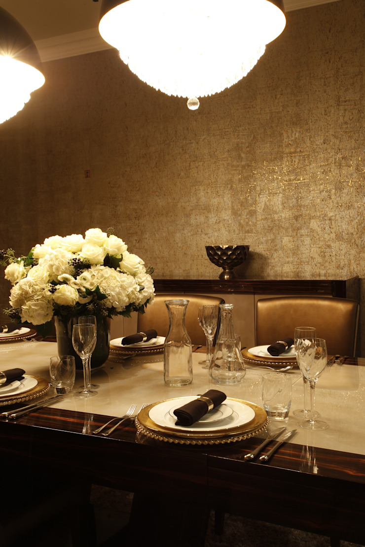 Dining Room Details Roselind Wilson Design Ruang Makan Modern