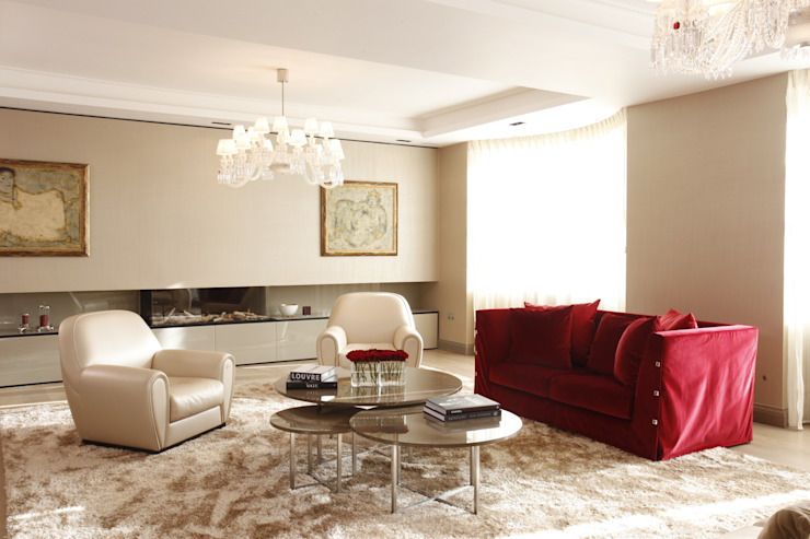 Living Room Roselind Wilson Design Ruang Keluarga Modern