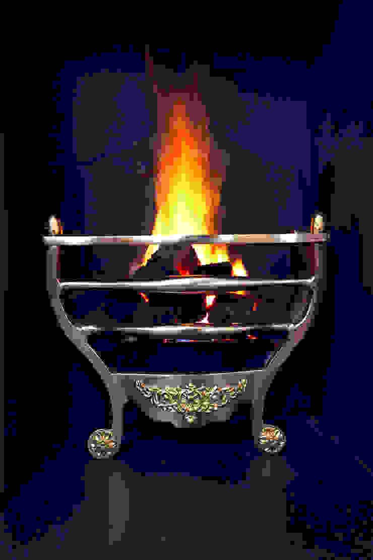 Fireplace Roselind Wilson Design Rumah Modern