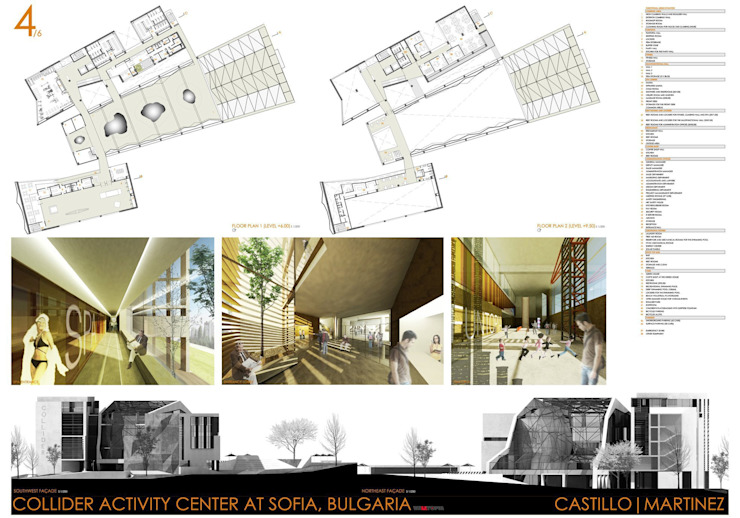 COLLIDER ACTIVITY CENTER COMPETITION Palestra di Castillo|martinez