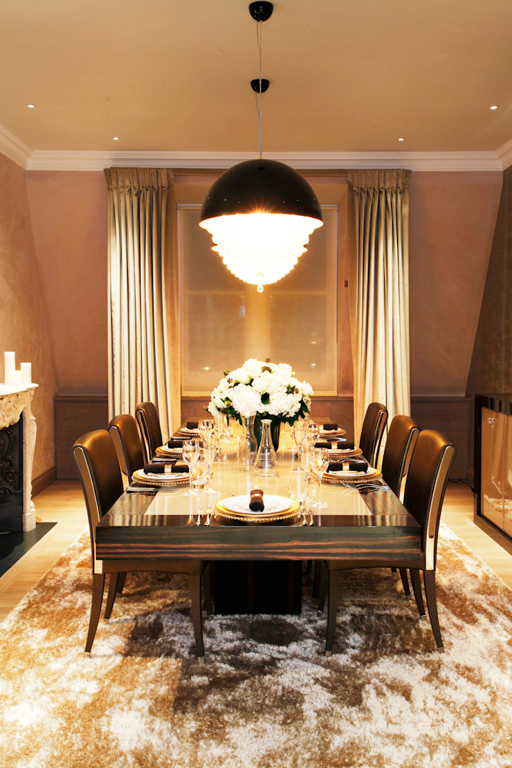 Dining Area Roselind Wilson Design Ruang Makan Modern