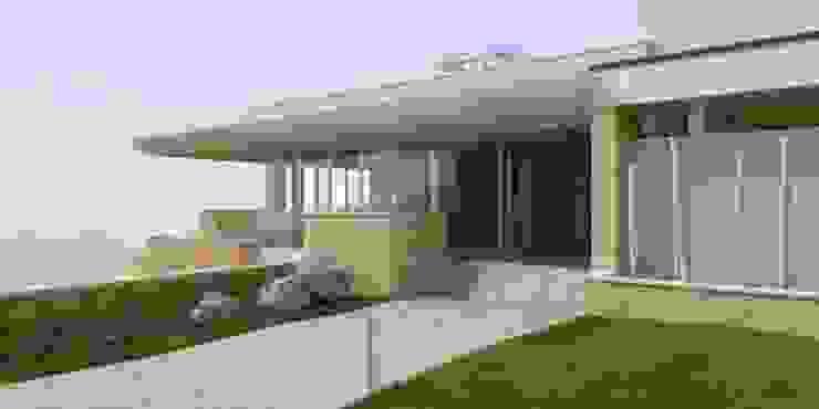 Villa privata Case moderne di Albini Architettura Moderno