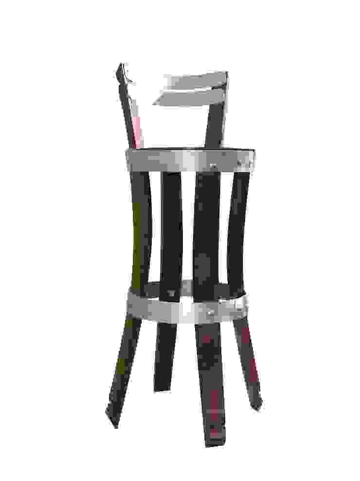 chaise haute , modèle feuillette par Douelledereve / Eco design construction