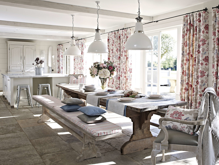 Dining room by Prestigious Textiles,
