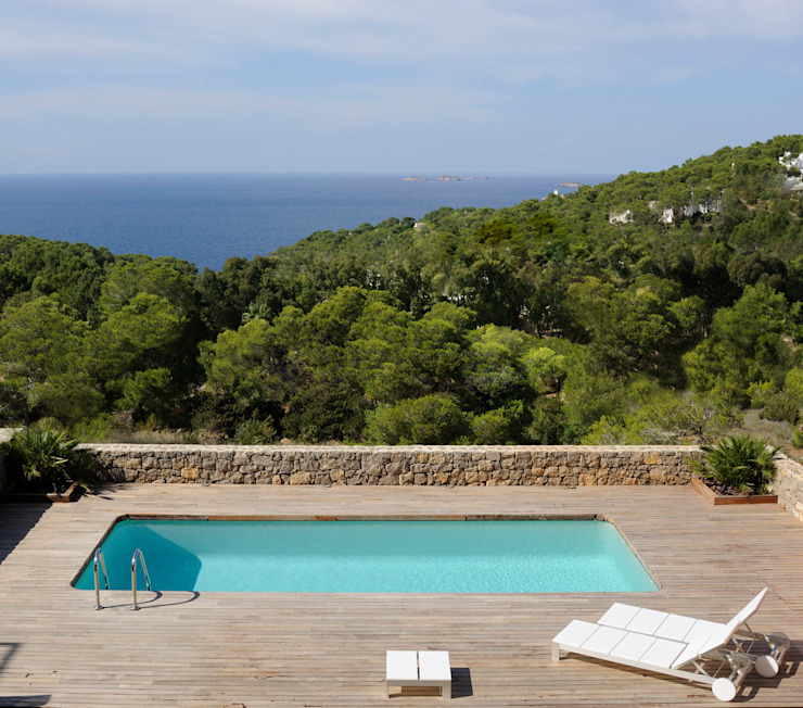 Una casa ad Ibiza di StudioDodici Architettura, Design, Interior Mediterraneo