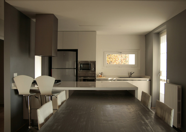 Architetto Andrea Pagani: modern tarz , Modern