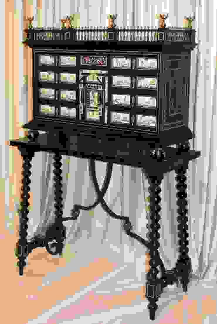 Bargueño con mesa Aranda de Ámbar Muebles Clásico