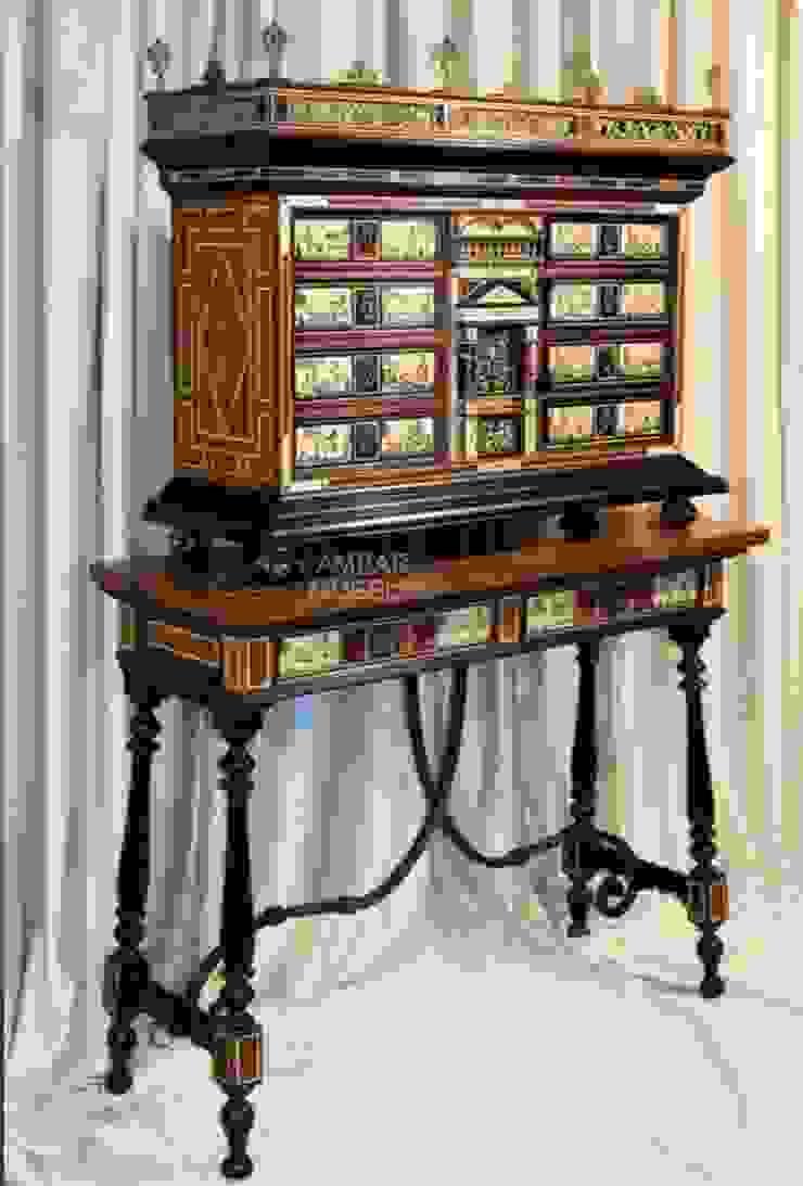 Bargueño con mesa de cajones Sonseca de Ámbar Muebles Clásico