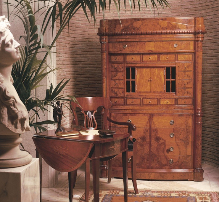 Secreter de Olivo Gander de Ámbar Muebles Clásico