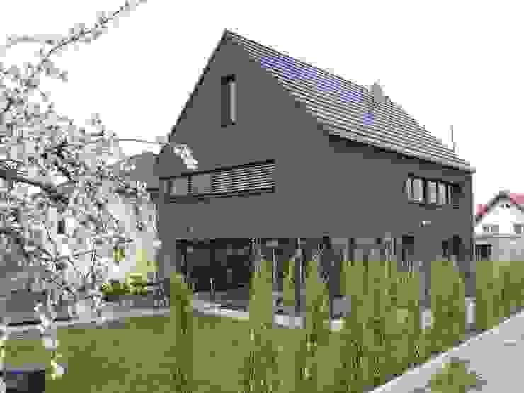 Projekty,  Domy zaprojektowane przez Architekturbüro für Passiv- und Energieplushäuser, Eklektyczny