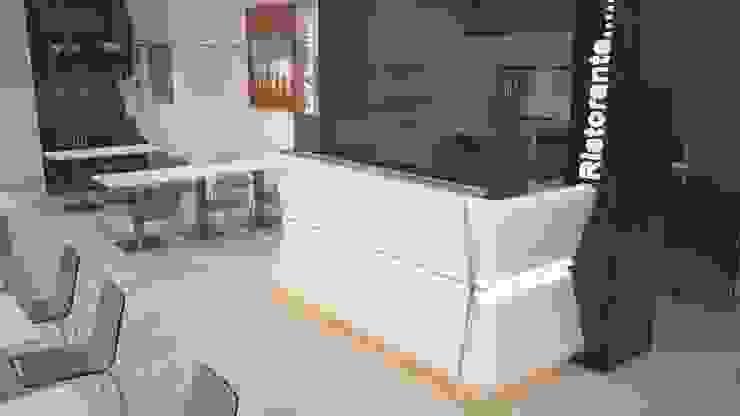 particlare baco pizzeria di STUDIO ARCHITETTURA-Designer1995 Moderno