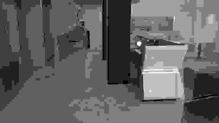 particolare arredamento retrobanco di STUDIO ARCHITETTURA-Designer1995 Moderno