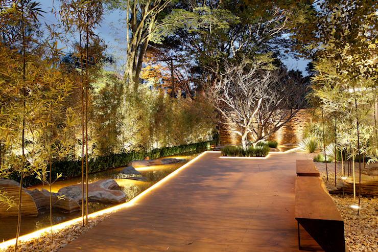 Hanazaki Paisagismo Modern style gardens