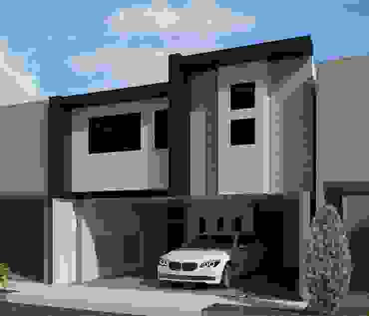 REMODELACION CASA - HABITACION Casas modernas de ED+C ARQUITECTOS Moderno