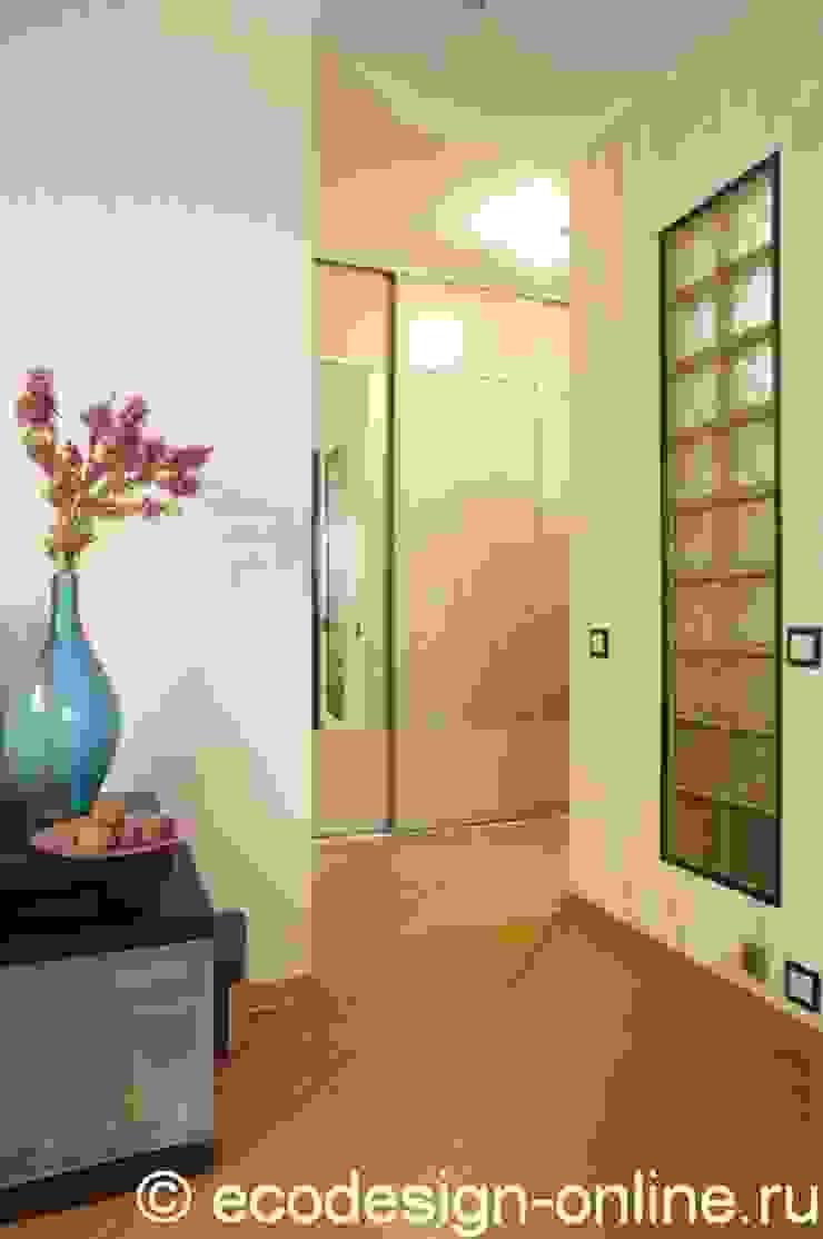 Расширяя пространство. Коридор, прихожая и лестница в стиле минимализм от Ольга Макарова (Экодизайн) Минимализм