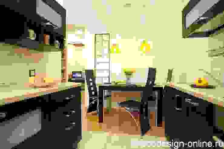 Расширяя пространство. Кухня в стиле минимализм от Ольга Макарова (Экодизайн) Минимализм