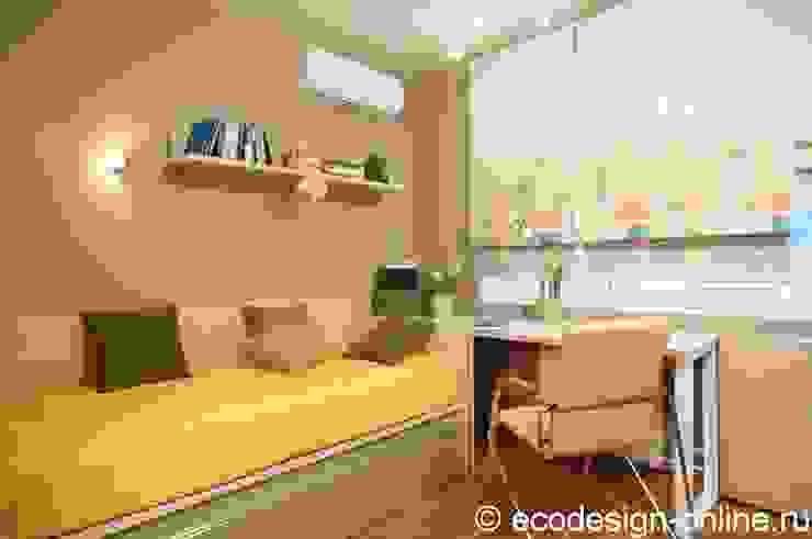 Расширяя пространство. Детская комнатa в стиле минимализм от Ольга Макарова (Экодизайн) Минимализм