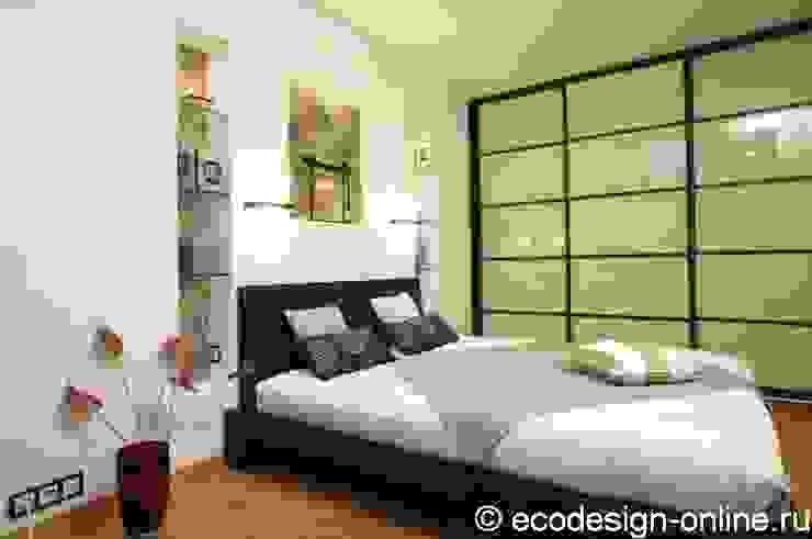 Расширяя пространство. Спальня в стиле минимализм от Ольга Макарова (Экодизайн) Минимализм