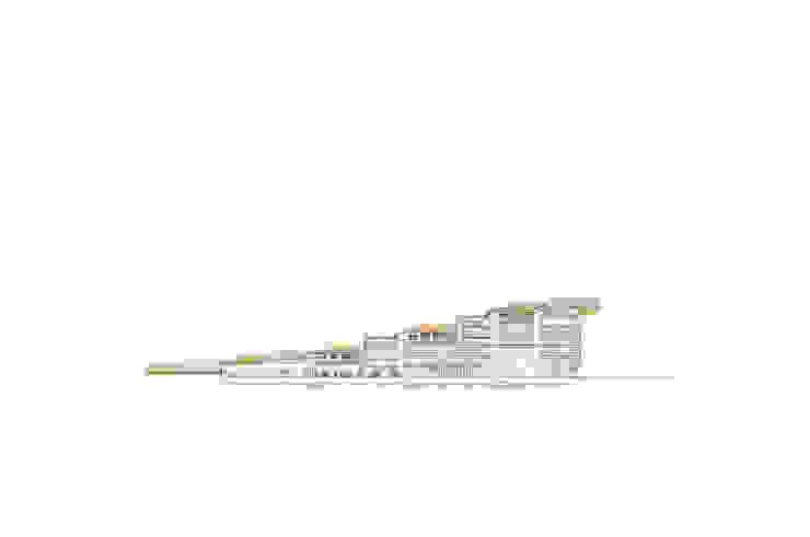 Sección Museos de estilo moderno de Envés arquitectos Moderno