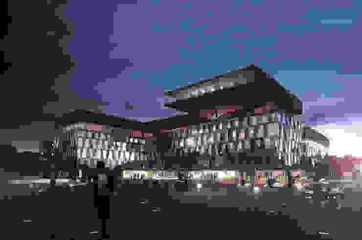 Zentral- und Landesbibliothek Berlin Museos de estilo moderno de Envés arquitectos Moderno