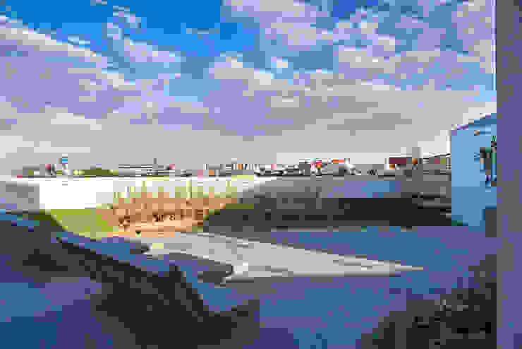 Roof Garden: Casas de estilo  por MOCAA,