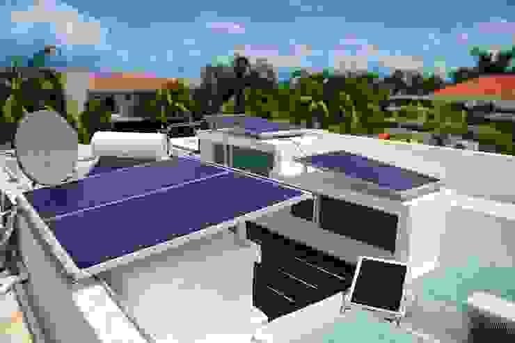 paneles solares Excelencia en Diseño Casas estilo moderno: ideas, arquitectura e imágenes