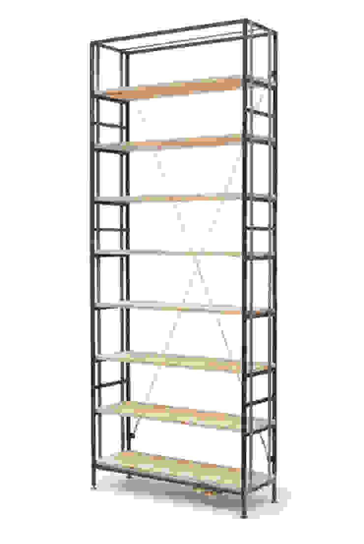 Buchspanner Regal Industriale Esszimmer von ADUS.design Inh. Manuel Pfahl Industrial