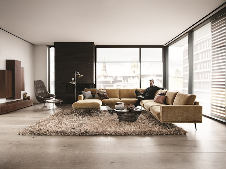 Гостиная в . Автор – BoConcept Germany GmbH, Модерн