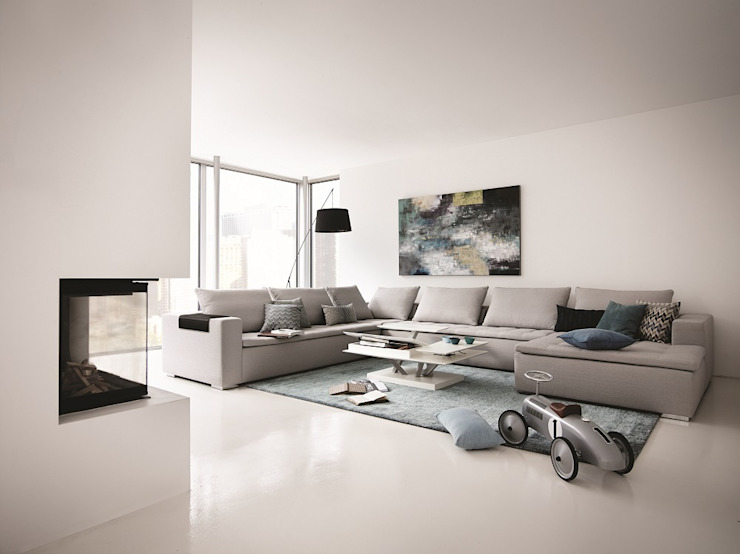 Modern living room by BoConcept Germany GmbH Modern