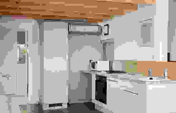 Le 16 - Espace de vie 1er étage - cuisine Maisons modernes par Aurélie Ronfaut dite Thi-Lùu Moderne