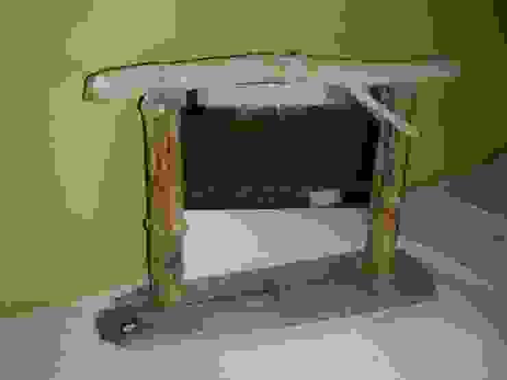 miroir à poser ou suspendre en bois flotté par Bois flotté de Gibus Éclectique