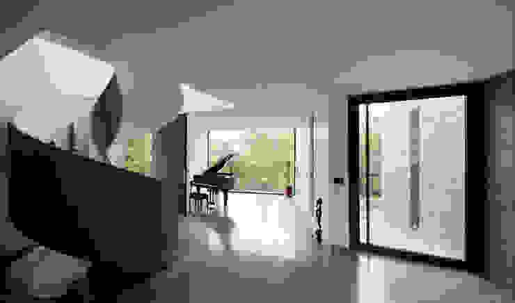 VUE DE LA BIBLIOTEQUE Maisons minimalistes par js2 Minimaliste