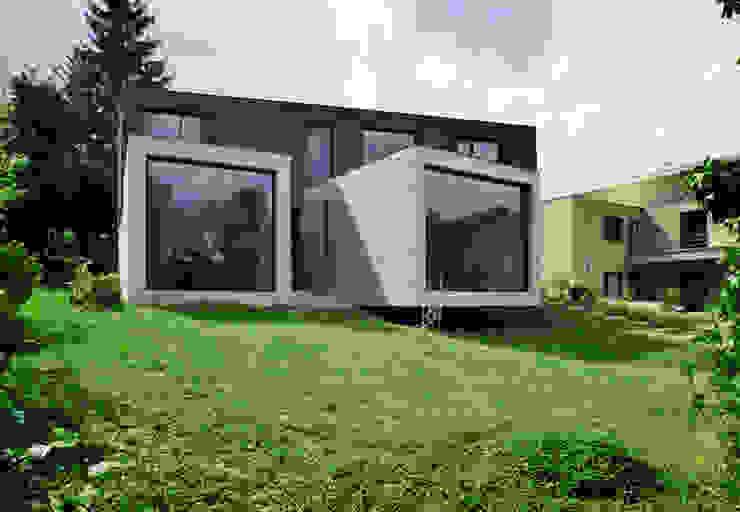 VUE DU BUREAU Maisons minimalistes par js2 Minimaliste