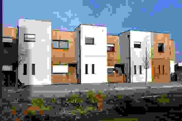 Rue Wagner – LILLE – 2013 – <q>21 Logements individuels</q> par Bertrand Danel Architecte