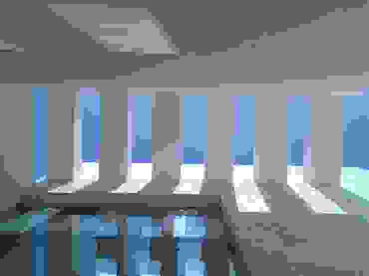 Vestíbulo Exterior Casas minimalistas de Vortex Arquitectos Minimalista