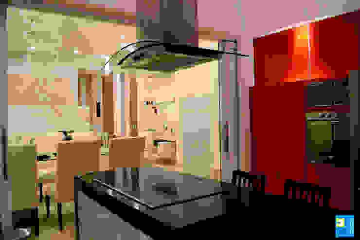 cocina comedor: Cocinas de estilo  por Excelencia en Diseño, Moderno