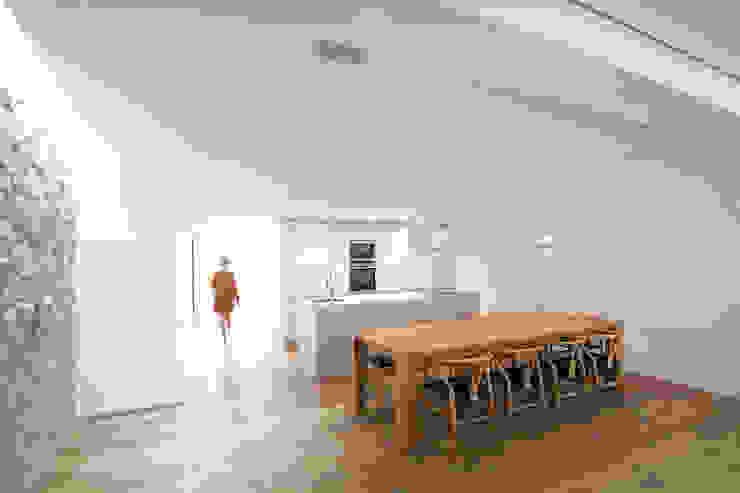 Casa en Quesa Comedores de estilo mediterráneo de Balzar Arquitectos Mediterráneo
