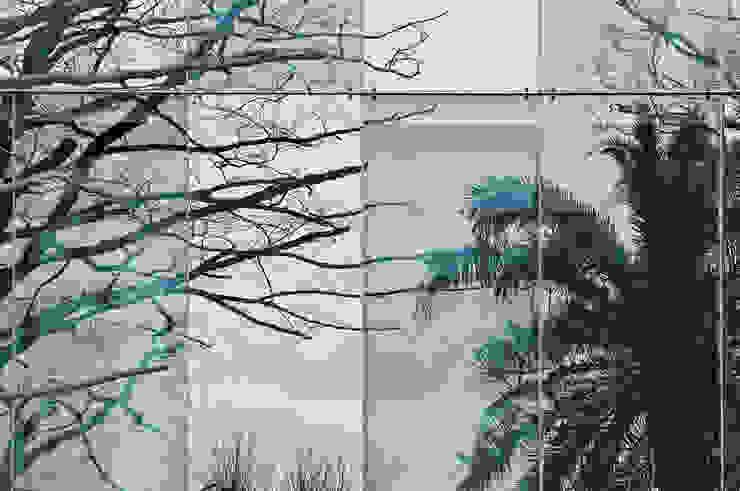 Detalle acristalamiento muro cortina de G&C ARQUITECTOS