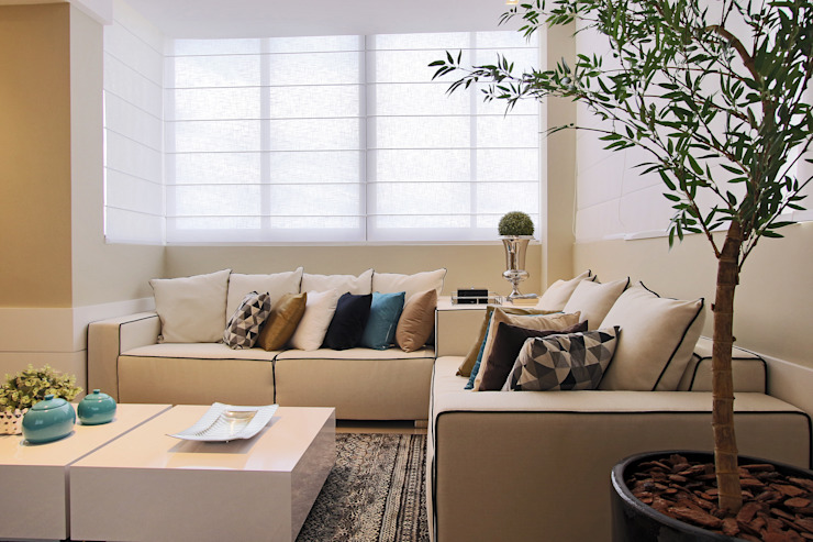 Estar churrasqueira Salas de estar modernas por AL11 ARQUITETURA Moderno