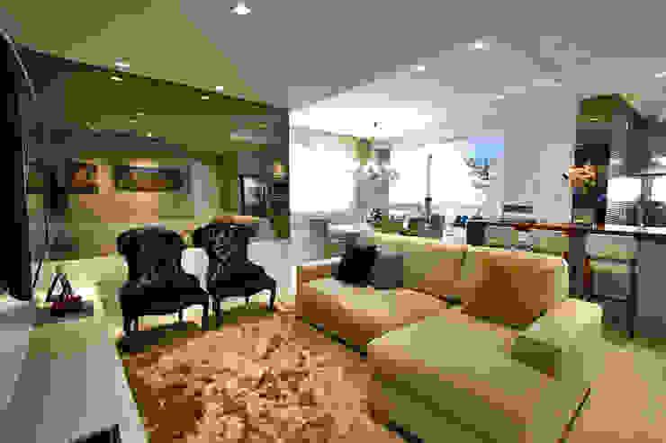 Sala de estar Salas de estar modernas por AL11 ARQUITETURA Moderno