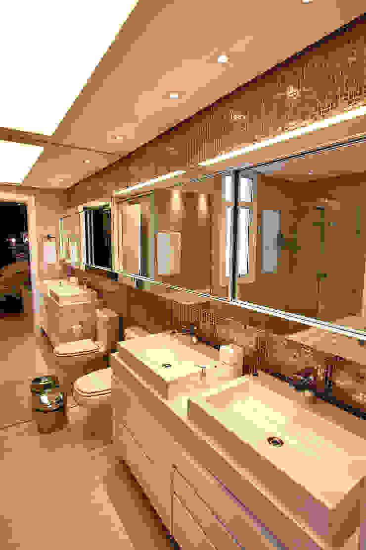 Banho Casal Banheiros modernos por AL11 ARQUITETURA Moderno