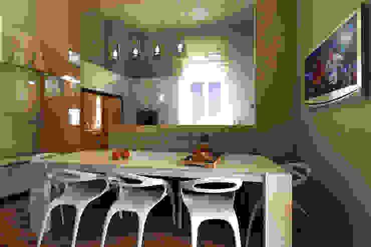 Virtual Home Staging Cucina di Studio di Architettura Tundo Moderno