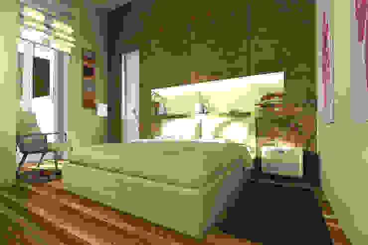 Moderne Schlafzimmer von AAA Architettura e Design Modern