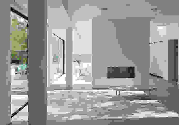 Aberdeen Park, Highbury Modern living room by Emmett Russell Architects Modern