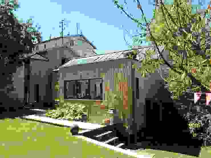 Extension bois à Sèvres par T design architecture