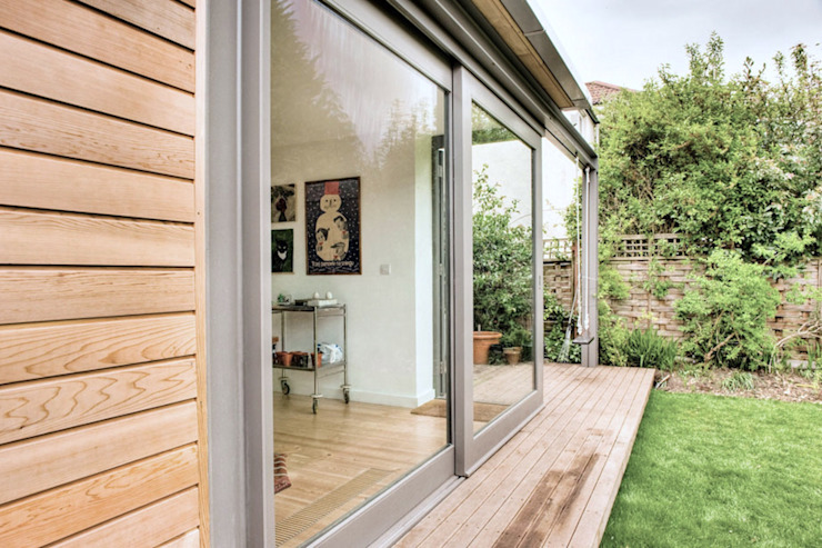 Cossins Road, Redland Emmett Russell Architects Deck & Patio: Design Ideas and Pictures