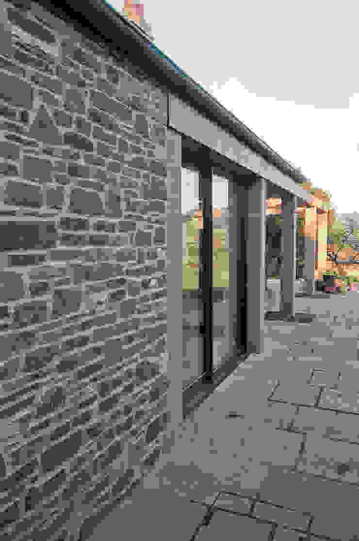 The Old Rectory, Wolvesnewton Balcony, veranda & terrace by Emmett Russell Architects