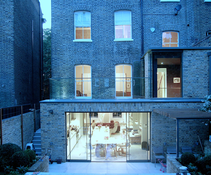 Alwyne Place, Islington Casas por Emmett Russell Architects
