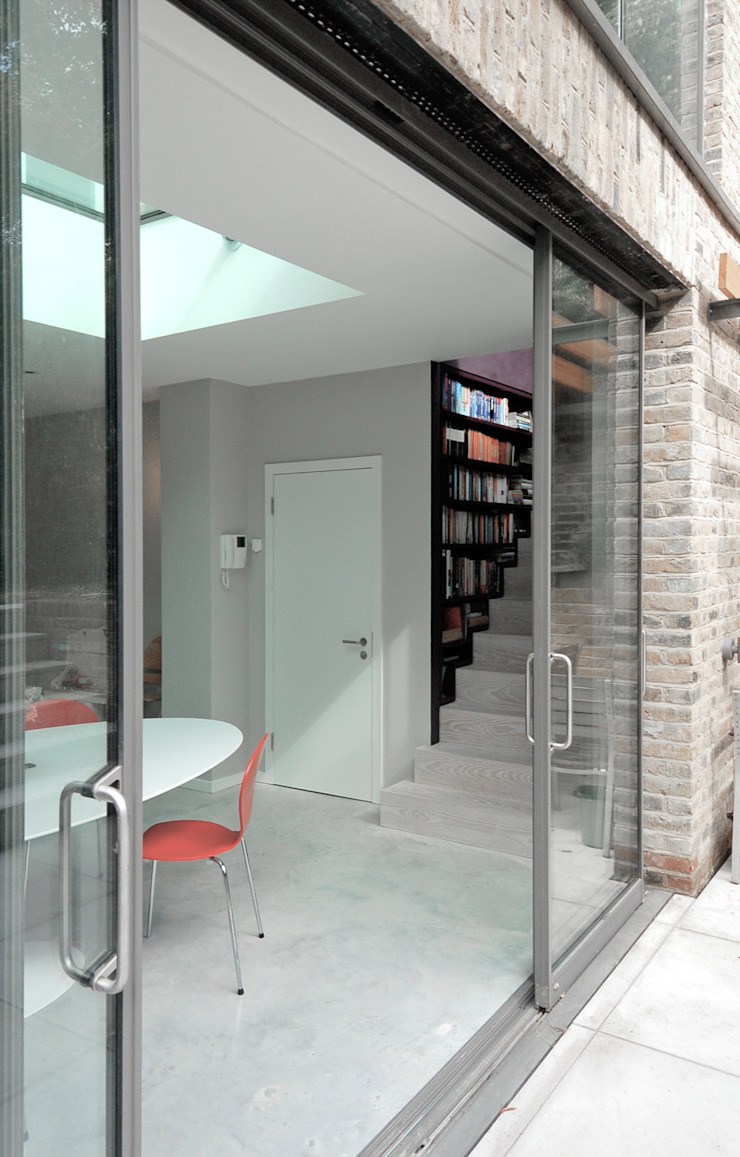 Alwyne Place, Islington Salon par Emmett Russell Architects