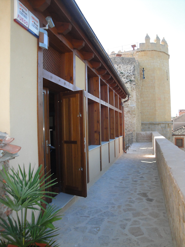 Centro de interpretación de la muralla de Segovia Museos de estilo rústico de Ear arquitectura Rústico